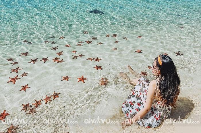 """Check in """"thiên đường sao biển"""" – làng chài Rạch Vẹm Phú Quốc"""
