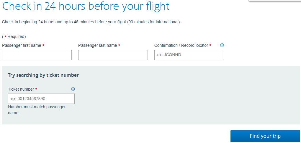 Hướng dẫn check in online American Airlines nhanh chóng