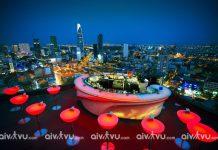 Chill Skybar – Quán bar sở hữu view đẹp nhất Sài Gòn