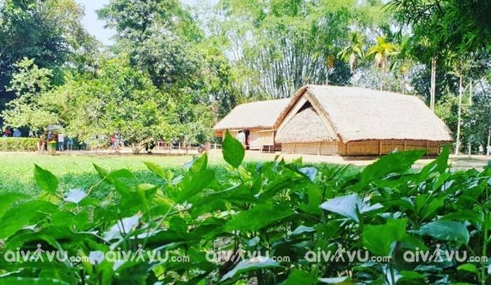 Khu di tích lịch sửa Làng Sen địa điểm du lịch được yêu thích ở làng Sen