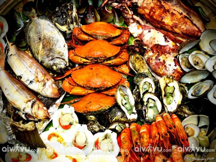 Ăn gì ở Vịnh Vân Phong, Nha Trang