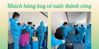 Dịch vụ cách ly trọn gói chuyến bay hồi hương về Việt Nam