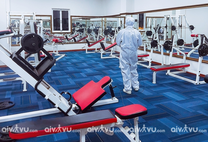 Phòng tập gym tại Ladalat