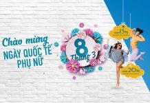 Mừng 8/3 Vietnam Airlines khuyến mãi giảm giá đến 20% cho khách nhóm