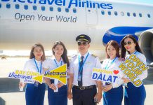 Vietravel Airlines khai trương chặng TP. HCM – Đà Lạt giá chỉ từ 26.000 VND