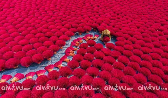 Ghé thăm làng nghề làm hương truyền thống của Hà Nội