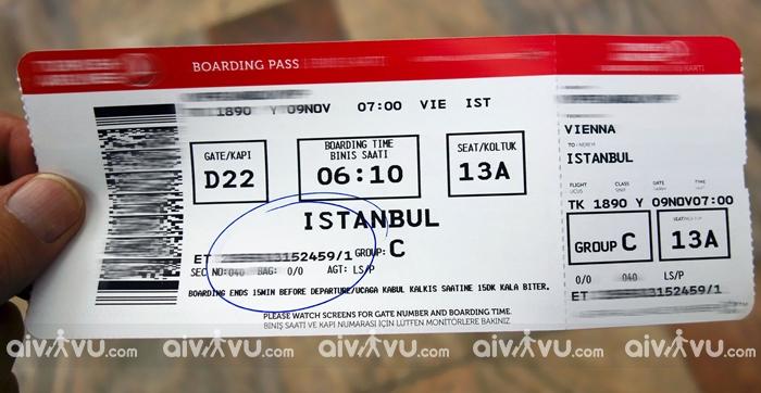 Hướng dẫn đổi tên vé máy bay Turkish Airlines nhanh chóng