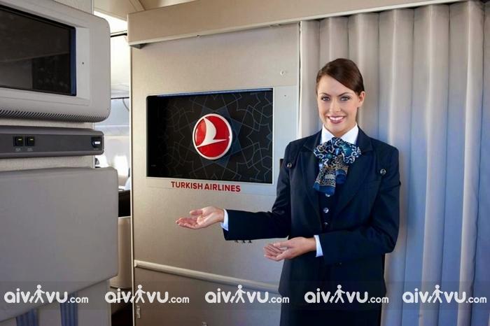 Hướng dẫn làm thủ tục lên máy bay Turkish Airlines mới nhất