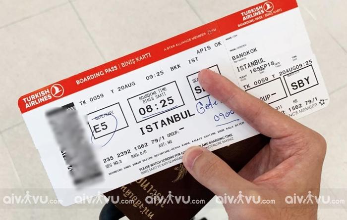 Hướng dẫn mua vé máy bay Turkish Airlines giá rẻ