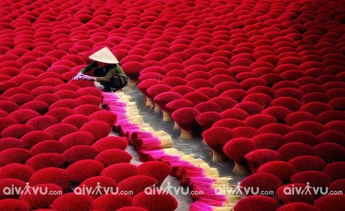 Làng nghề làm hương truyền thống Hà Nội ở đâu?