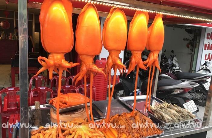 Mực món ăn big site tại Sài Gòn