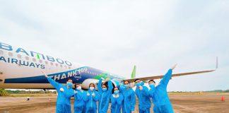 Mở bán vé máy bay từ Hàn Quốc về Việt Nam ngày 1304