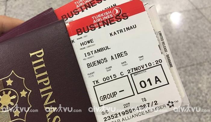 Quy định hoàn hủy vé máy bay Turkish Airlines
