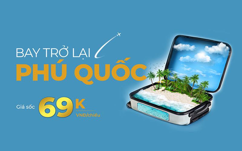 Vietnam Airlines bay trở lại đường bay Phú Quốc chỉ từ 69.000 VND