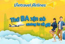 Vietravel Airlines khuyến mãi vé máy bay chỉ từ 8.000 VND