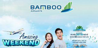 Khuyến mãi giảm 20% giá vé cho nhóm 3 người từ Bamboo Airways