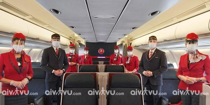 Điều kiện đổi ngày bay trên vé máy bay Turkish Airlines