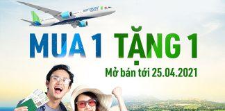 Bamboo Airways khuyến mãi mua 1 tặng 1 kích cầu du lịch