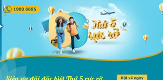 Thứ 5 rực rỡ săn khuyến mãi Vietnam Airlines chỉ từ 508.000 VND