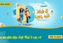 Săn vé máy bay khuyến mãi chỉ từ 498.000 VND từ Vietnam Airlines