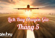 Thông báo lịch bay chuyên gia về Việt Nam tháng 5/2021