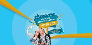 Vietnam Airlines khuyến mãi nối lại đường bay xuyên Việt chỉ từ 69.000 VND