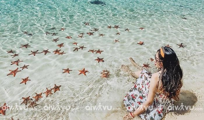 Bãi sao một trong những bãi biển đẹp nhất Phú Quốc