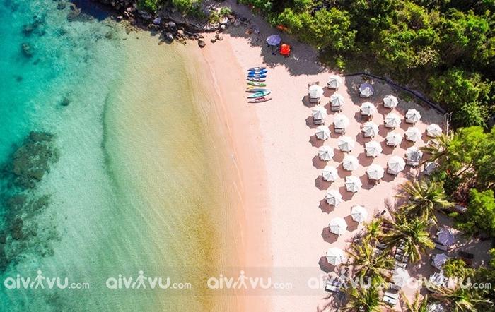 Check in vịnh Đầm Bấy Nha Trang – Maldives của Nha Trang