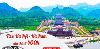 Dịch vụ cho thuê xe taxi đi Hà Nam trọn gói giá rẻ