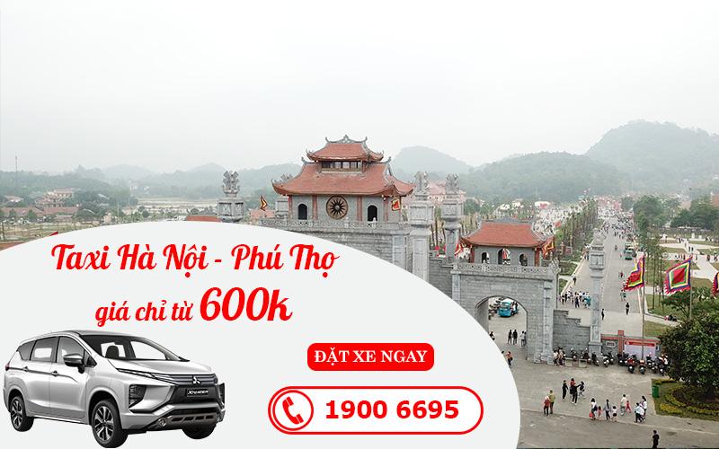 Dịch vụ cho thuê xe taxi đi Phú Thọ giá rẻ