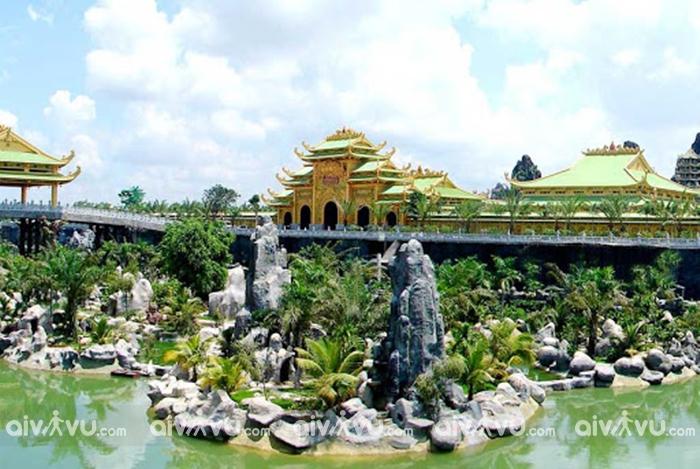 Đại Nam khu du lịch có diện tích lớn nhất Đông Nam Á