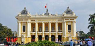 Nhà hát lớn Hà Nội công trình kiến trúc cổ của Pháp tại thủ đô