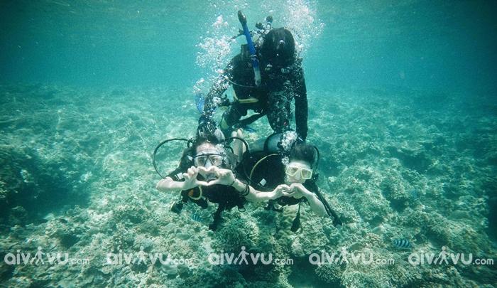 Những lưu ý khi lặn biển ở Nha Trang