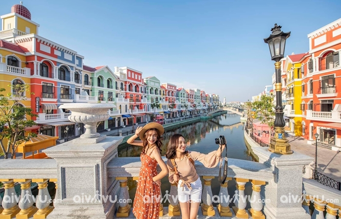 Tháp chuông cao hơn 75 mét tại Venice Phú Quốc
