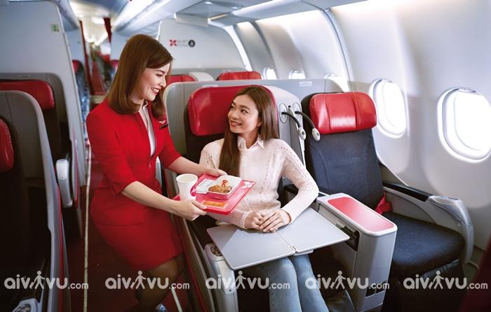 Tìm hiểu hạng ghế Air Asia
