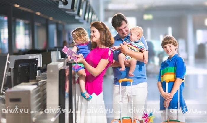 Trẻ em đi máy bay Hong Kong Airlines cần giấy tờ gì?
