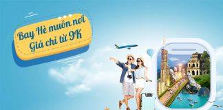 Vietnam Airlines khuyến mãi Bay hè muôn nơi chỉ từ 9.000 VND