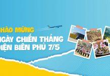Vietnam Airlines khuyến mãi chỉ 299.000 VND mừng chiến thắng Điện Biên Phủ