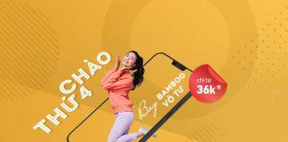 Bamboo Airways khuyến mãi chỉ từ 36.000 VND bay vô tư