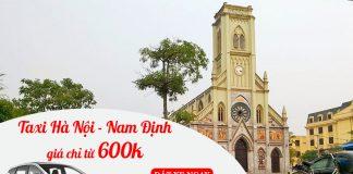 Dịch vụ cho thuê xe taxi đi Nam Định trọn gói