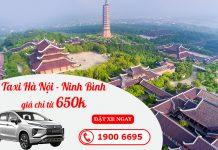 Dịch vụ cho thuê xe taxi đi Ninh Bình giá rẻ