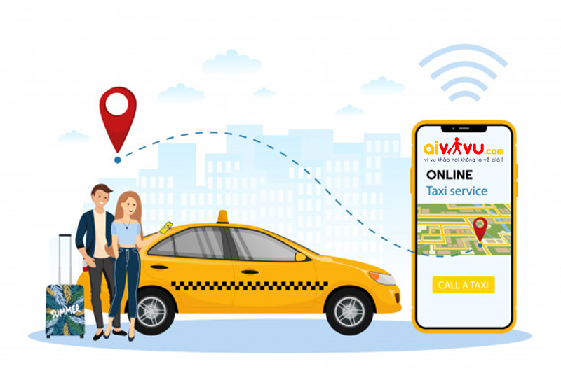 Ưu điểm khi sử dụng dịch vụ thuê xe taxi từ Aivivu