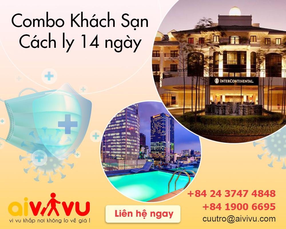 Combo dịch vụ cách ly khách sạn 14 ngày trọn gói