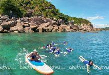 Không muốn chen chúc bãi biển đông người hãy đến với Hòn Chảo Đà Nẵng