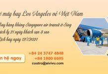 Mở bán chuyến bay từ Los Angeles về Đà Nẵng
