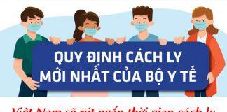 Việt Nam sẽ rút ngắn thời gian cách ly người nhập cảnh đã tiêm Vaccine