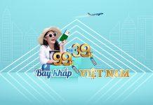 Vietnam Airlines khuyến mãi bay khắp Việt Nam chỉ từ 39.000 VND