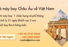 Mở bán chuyến bay từ Châu Âu về Việt Nam
