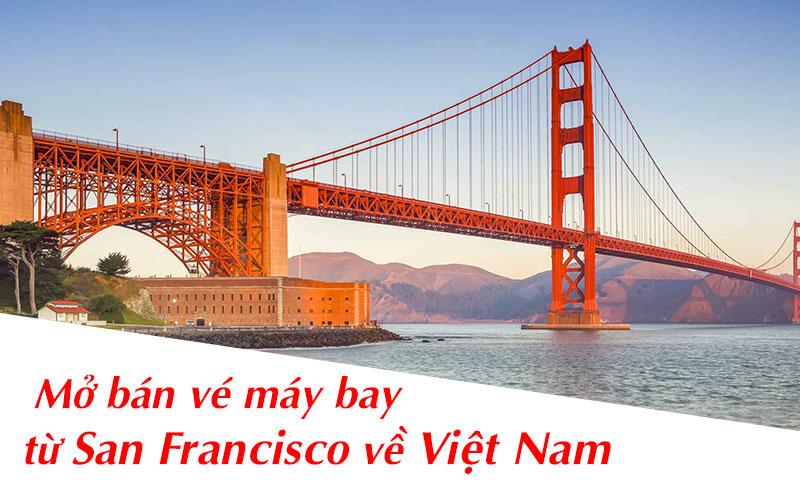 Combo vé máy bay từ San Francisco về Việt Nam cách ly khách sạn 4 sao