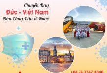 Vé máy bay từ Đức về Việt Nam